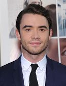 LOS ANGELES - AUG 20:  Jamie Blackley arrives to the 'If I Stay' Hollywood Premiere  on August 20, 2014 in Hollywood, CA