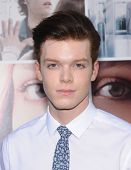 LOS ANGELES - AUG 20:  Cameron Monaghan arrives to the 'If I Stay' Hollywood Premiere  on August 20,
