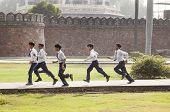 School Class Visits Humayun's Tomb In Delhi