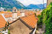 The Roofs Of Kotor