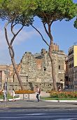 Forum Of Augustus, View  From Via Dei Fori Imperiali