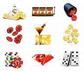 Casino and gambling icons 2