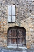Old Door And Window In Dordogne