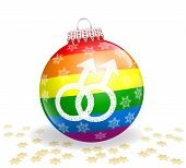 Gay Christmas Ball