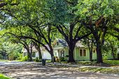 Old Homes At The Charpentier District In Lake Charles