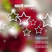 eps10 vector colorful background with stars elements background