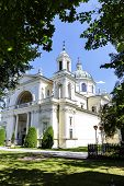 Church Of St. Anne In Warsaw's Wilanow, Poland