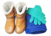 Winter Shoes And Accessories