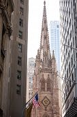 foto of trinity  - Trinity Church Manhattan New York City US - JPG