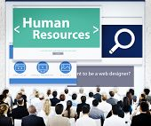 Group of Business People Seminar Human Resources Concept