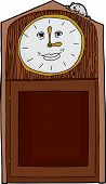 Grandfather Clock With Blank Numbers