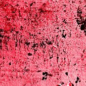Red Devil's bloody texture wall