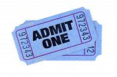 Blue Admission Tickets