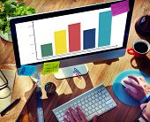 Graph Growth Business Success Chart Concept