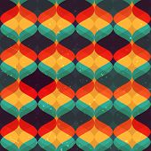 Colorful abstract pattern. Seamless vector background.