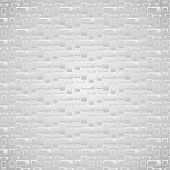 Silver Rounded Corner Rectangle Pattern On Pastel Background