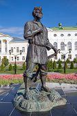 Russia. Tambov. Monument Tambovskiy Muzhik