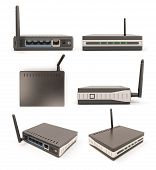 View From Different Angles Wireless Router