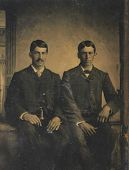 1888 Photo of 2 men