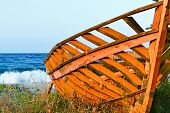 Boat On The Shore A