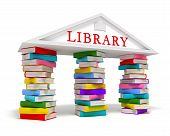 Library books icon