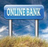 online internet banking account money bank deposit
