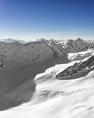 Swiss Alpine Peaks Ridge Landscape Panorama