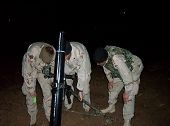 US Army  120mm Mortar Squad in Iraq