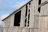 Barn, Missing Boards