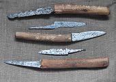 Medieval Knives