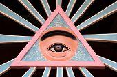 The Divine Eye Symbol Of Cao Dai Religion