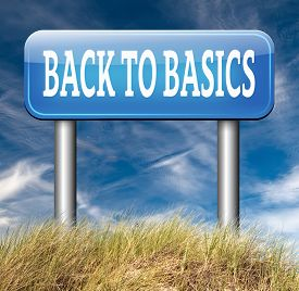 stock photo of primite  - Back to basics to the beginning keep it simple and basic primitive simplicity