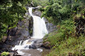 picture of plateau  - Chisanga Waterfall on the Nyika Plateau in Northern Malawi - JPG