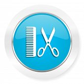 picture of barber  - barber icon   - JPG