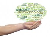 stock photo of text cloud  - Concept or conceptual abstract green ecology - JPG