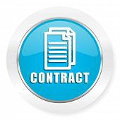 pic of contract  - contract icon  - JPG