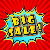 pic of pop up book  - Creative colorful poster Big sale in Pop - JPG