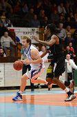 Kaposvar - jogo de basquete de Szombathely