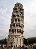 The Pisa Lean Tower In Pisa