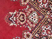 Oosterse tapijt.