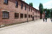 Auschwitz concentration camp in Poland