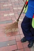 Sweeper And Broom