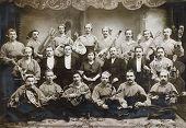 orchestra napolitano (neapolitans)- photo 1904 y.