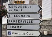 Directional Signs Normandy