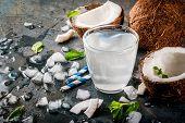 Fresh Organic Coconut Water poster