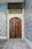 Ancient Door At Topkapi Palace