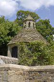Dovecote In English Country House Garden