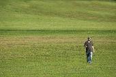 Man In The Field