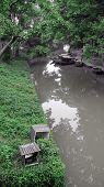 Chinese River Scene