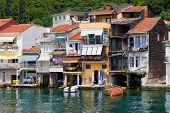 Anadolu Kavagi Village In Turkey